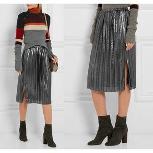 NWT Isabel Marant Etoile Madlen Skirt metallic NEW